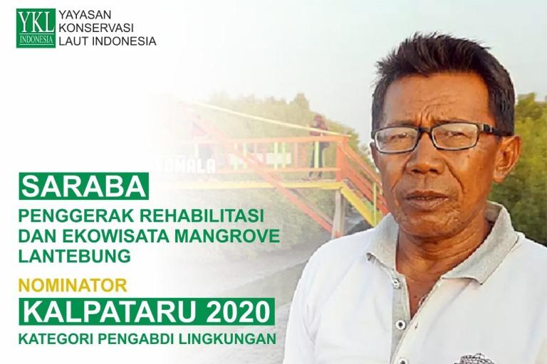 Saraba, Nominator Kalpataru 2020 Kategori Pengabdi Lingkungan