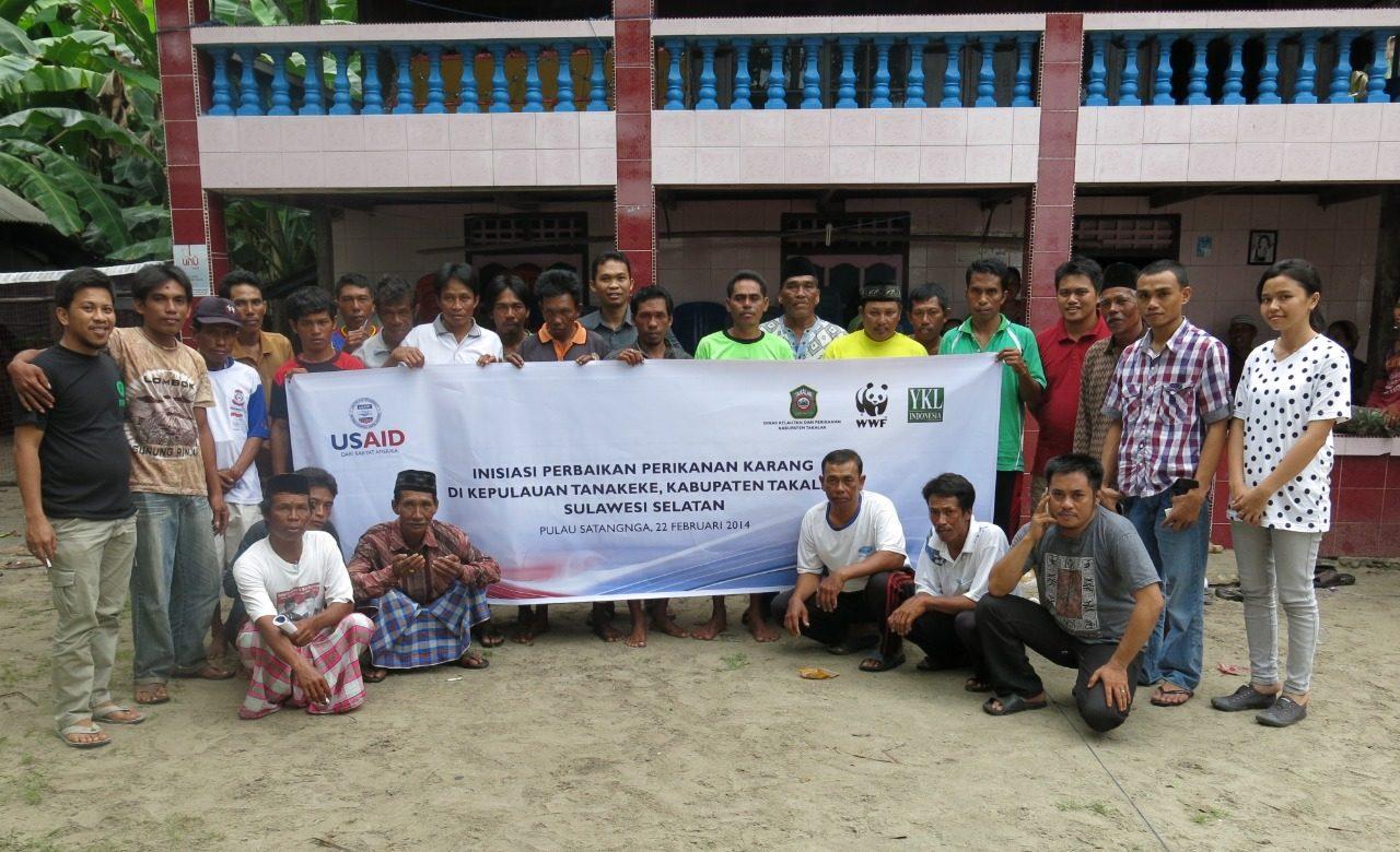 Nelayan Pulau Satangnga Ikuti Pelatihan BMP Perikanan Karang